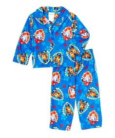 Look at this Blue Paw Patrol Pajama Set - Toddler on #zulily today!