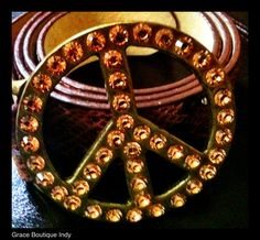 Peace Crystal Belt