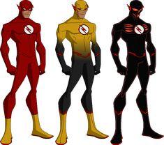 Eobard Thwane by on DeviantArt My Hero Academia, Reverse Flash, Wally West, Kid Flash, Young Justice, Wetsuit, Dc Comics, Deviantart, Superhero