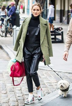 Olivia Palermo's 5 Latest Looks From the Streets of NYC via @WhoWhatWear