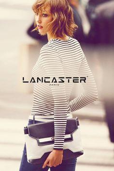 Karlie Kloss Fronts Lancaster Paris' Spring 2014 Campaign