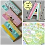Blog Link Party With Wishy Washi Tape - Somewhat Simple DIY