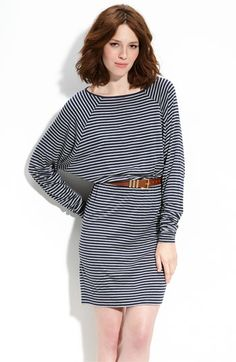 Such a great dress for the fall and winter...looks great with a belt and boots!