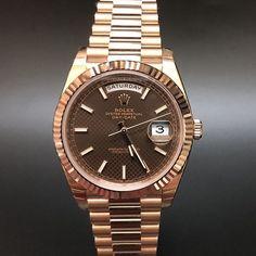 Rolex 228235 Daydate 40 Rose Gold (2016) WA : 628121067189  : 021-7209021 https://mulialegacy.com
