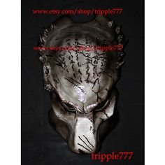 1:1 Full Scale Replica Predator mask, Predator costume, Predator helmet, Home decor, Wall mask, Halloween mask, Steampunk mask AVP wolf PD12