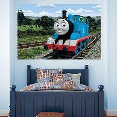 Thomas The Tank Engine: Countryside Mural REAL.BIG. Fathead U2013 Peel U0026 Stick