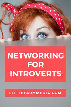 Networking for Introverts — Little Farm Media