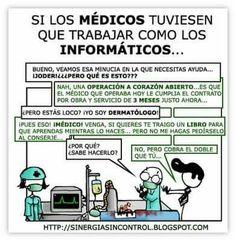 Médicos como informáticos