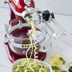 KitchenAid Stand Mixer Attachments Your Kitchen Needs | Spiralizer Attachment