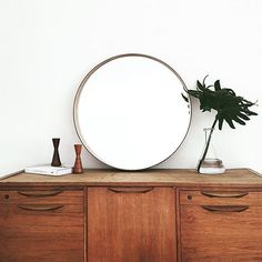 MCM Sideboard [From how to use Craigslist to decorate your home]