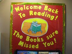 Welcome Back to Reading! Glad you liked this board.