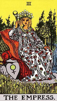 O Tarot desvenda o seu inconsciente. |  Cada um dos arcanos do Tarot tem seu significado, e a ordem e a combinação como estes se apresentam no jogo determina a interpretação do que está por vir na vida de alguém. Há quem defenda que o jogo de tarot apenas esclarece o que você já sabe, funcionando com uma luz de orientação. Veja o significado da Carta: A Imperatriz