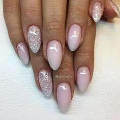 "6,577 Likes, 43 Comments - Solin Sadek (@solinsnaglar) on Instagram: ""Frosted Pink med glitter #lillynails"""