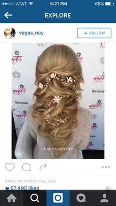 Gorgeous wedding hair 36738652be