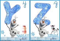A Arte de Ensinar e Aprender: Cartelas alfabeto temático Frozen Snowman, Disney Characters, Fictional Characters, Frozen, Alphabet, Teaching, Creative Ideas, Creativity, Classroom
