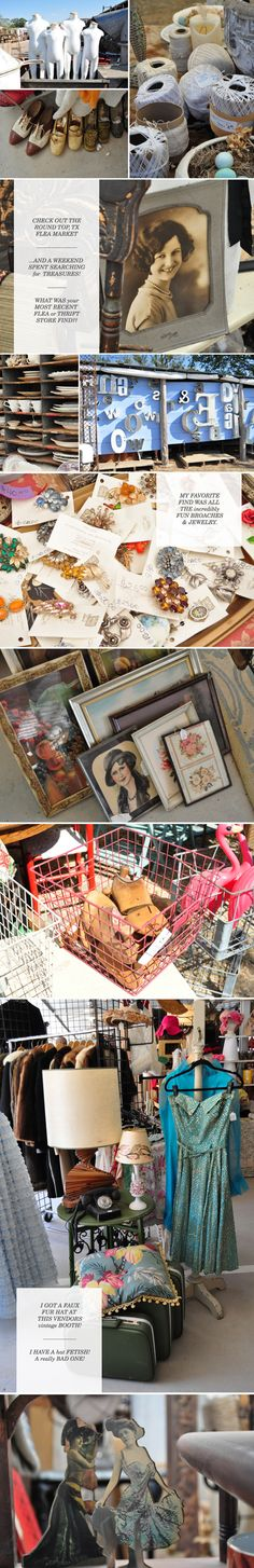 Round Top, TX flea market - September & March