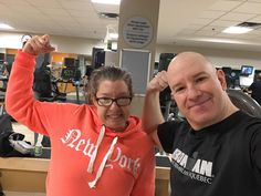 Yesterday my sister @dianarachlis took me to the @ottawa_ymca with her guest pass and we both worked out. She has Parkinsons (and is Celiac so cant eat gluten) and she goes to the gym around 6am every morning. She knows that exercising and eating healthy will keep her at her best and so she does it! No excuses! I made a Facebook Page and YouTube Channel for her where she shares her daily health tips. And Ill soon edit and post a video I shot yesterday of her showing me her workout routine…
