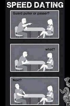 Jiu Jitsu speed dating