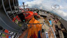 Bešeňová Yellow Water Slide (Kamikaze) 360° VR POV Onride Water Slides, Vr, Yellow
