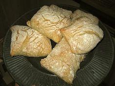 Homemade Ciabatta Ciabatta, Dairy, Cheese, Homemade, Food, Home Made, Essen, Meals, Yemek