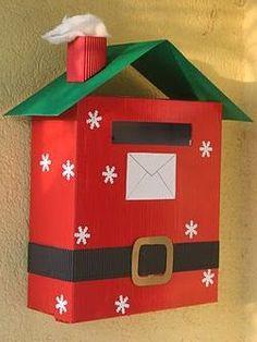 Картинки по запросу ящик для почты деда мороза