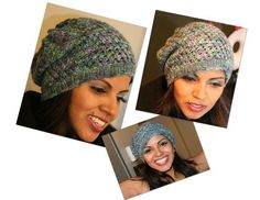 Last Minute Slouchy Hat Pattern for All-n-One Knitting Loom - Loom Knitting