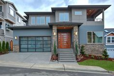 New construction in Renton, modern meets NW Craftsman