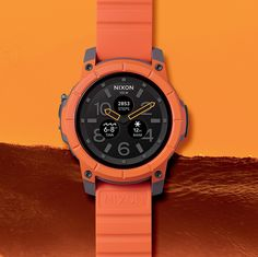 Welcome the Mission. An ultra-rugged, water resistant smartwatch, built tough for those who rise up Every. Single. Day. Available now at http://nxon.co/NixonMission.
