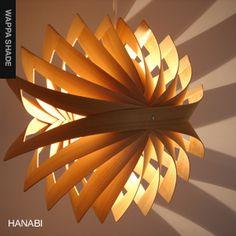 照明作家:谷 俊幸(TOSHIYUKI TANI) WAPPA SHADE | HANABI