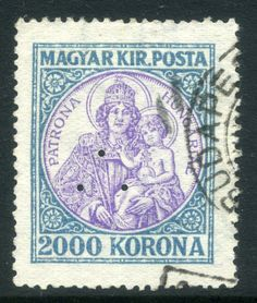 code qr | Details about HUNGARY; 1921 early Madonna issue fine used + Control ...