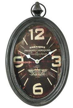Závěsné kovové hodiny Products