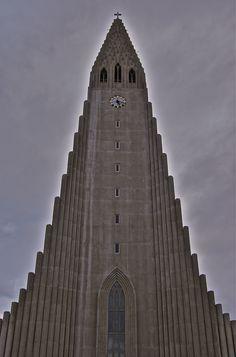 #Hallgrimskirkja in #Reykjavik