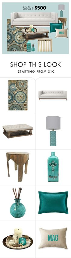 """Under 500"" by valerie-42 ❤ liked on Polyvore featuring interior, interiors, interior design, home, home decor, interior decorating, Gus* Modern, Room Essentials, Nate Berkus and Madison Park"