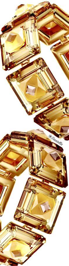 Swarovski Collection #Swarovski #Crystal #Bracelet #Citrine #Caramel Orange Leaf, Fall Is Here, Divine Feminine, Etiquette, Fine Jewelry, Jewellery, Luxury Lifestyle, Diamond Jewelry, Swarovski