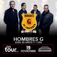#HombresG en Monterrey #ONTOURmx