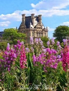 The Gardens of Paris~ Decor To Adore travel series June 2014.