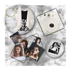 """""""Hippie Polaroid + Lucy Hale """" by shanaramadi ❤ liked on Polyvore featuring Polaroid, Boohoo, Børn, WearAll, Carole, Opening Ceremony and Jules Smith"""