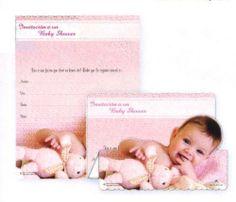 "100 Tri-Fold Baby Shower Invitations in Spanish - Baby Girl, 5.25"" x 7"" by Invitations > Baby Shower. $94.50. 100 Baby Shower Invitations in Spanish - Baby Girl, 5.25"" x 7"""