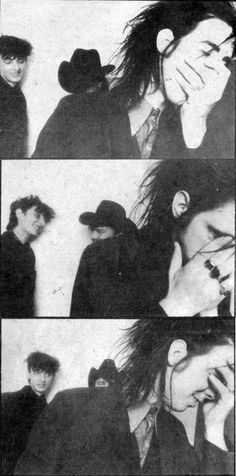 Rowland S Howard, Tracy Pew & Nick Cave of The Birthday Party