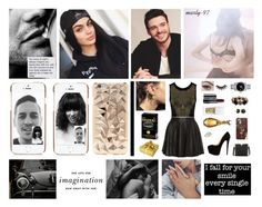 """Night Out With Your Boyfriend!! (G-Eazy)"" by marty-97 ❤ liked on Polyvore featuring New Look, La Perla, Casetify, Huda Beauty, Lancôme, Givenchy, Betsey Johnson, Valentino, Moschino and DUO"