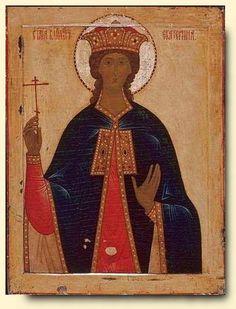 Saint Catherine Russian, Palekh School