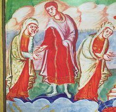 Carolingian, Dark Ages, Barbarian, Monaco, Anna, Painting, Christ, Figurative, Painting Art
