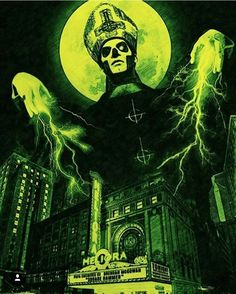 Papa Emeritus from Ghost B. Band Ghost, Ghost Bc, Rock Posters, Band Posters, Dark Beauty, Metal Viking, Ghost Banda, Ghost Papa Emeritus, Hard Rock