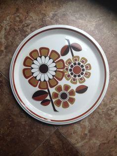 Mikasa D5851 Stoneware, Vintage dinnerware, vintage dishes, retro dishes, Straw Daisies,Mikasa Straw Daisy Pattern,Mikasa Straw Daisies by PhilomenasCloset on Etsy