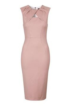Structured Shift Dress