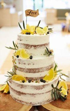 Weddingwire Music outside Funny Redneck Wedding Cake Toppers Bolo Nake Cake, Lemon Wedding Cakes, Lemon Party, Naked Cakes, Cake Table, Wedding Cake Toppers, Funny Wedding Cakes, Beautiful Cakes, Cake Decorating