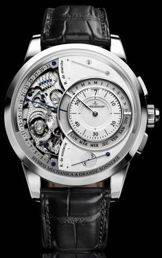 Jaeger LeCoultre Hybris Mechanica Grande Sonnerie, Thoughts On The Most Complicated Watch In The World  #jaegerlecoultre