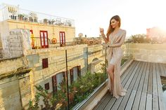 Glamorous evenings on a rooftop in Valletta in a sparkling dress and @CluseWatches la Vedette, here on my blog: http://larisacostea.com/2016/12/cluse-la-vedette/