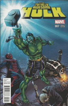 Marvel Totally Awesome Hulk comic issue 7 Limited variant