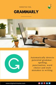 Grammarly, your Content Writing Assistant, helps you escape the errors in the write-up. It is a content friendly tool that eradicates common spelling mistakes, grammatical errors and style mistakes. Online Marketing Services, Best Digital Marketing Company, Seo Services, Marketing Tools, Customer Behaviour, Reputation Management, Seo Company, Mobile Marketing, In Writing